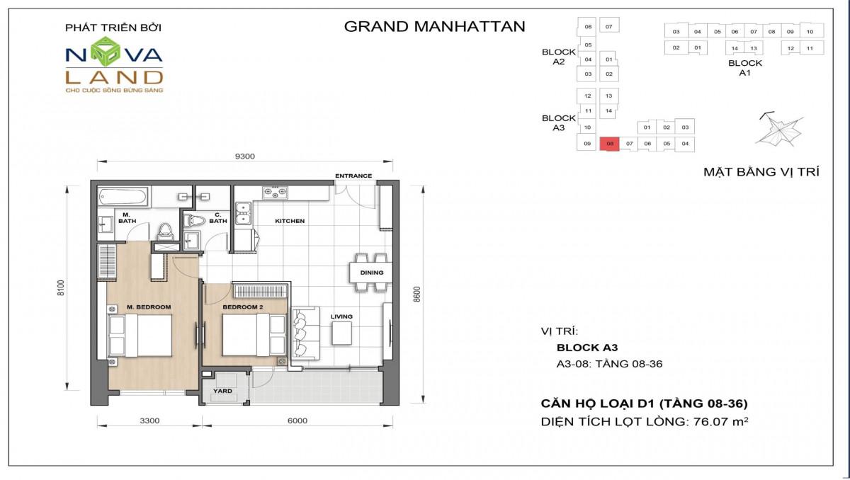 The Grand Manhattan can ho loai D1