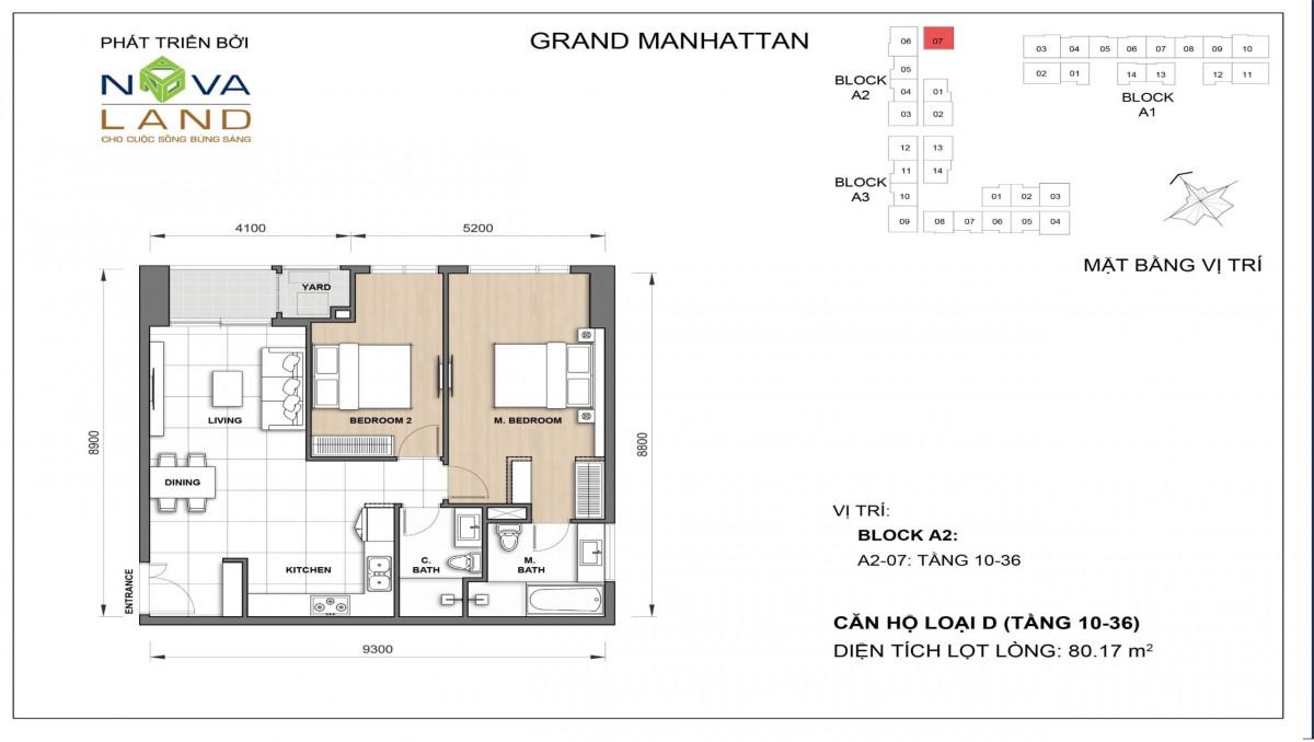 The Grand Manhattan can ho loai D