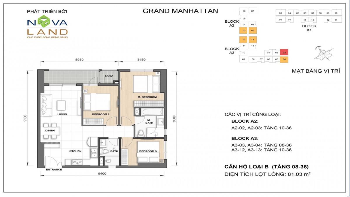 The Grand Manhattan can ho loai B