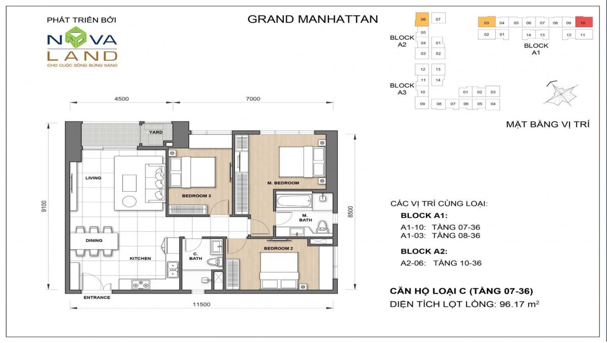The Grand Manhattan can ho loai C